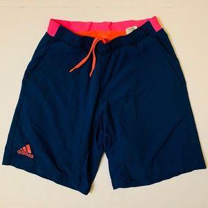 Adidas - Blue Tennis Shorts - Medium